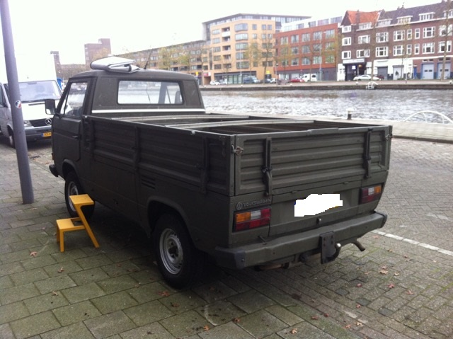 Dekzeil Volkswagen VW T3 Pick Up