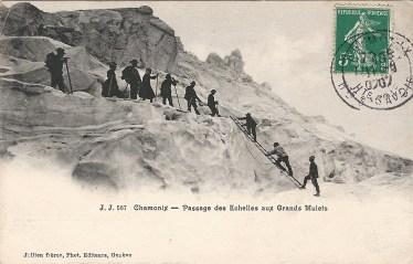 Passage aux Echelles aux Grands Mulets