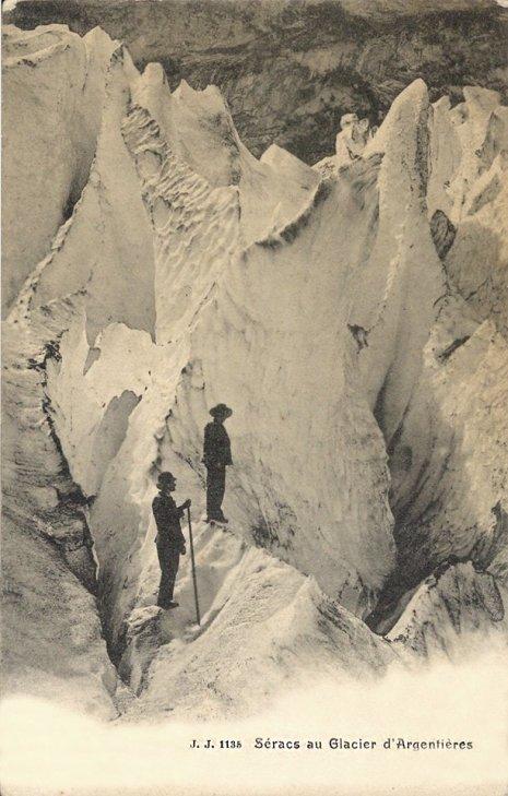 Séracs au Glacier d'Argentières