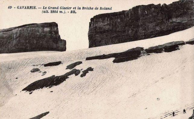 Le Grand Glacier et la Brèche de Roland