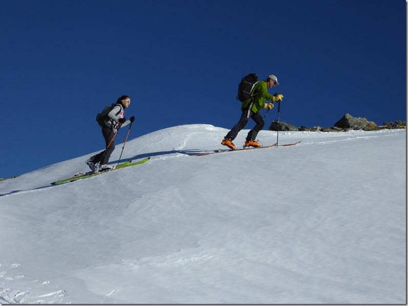 Ski de rando Punta Croce