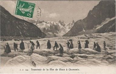 Traversée de la Mer de Glace à Chamonix