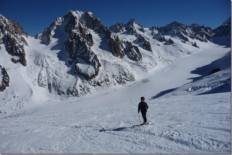 5 Sur le glacier des Rognons
