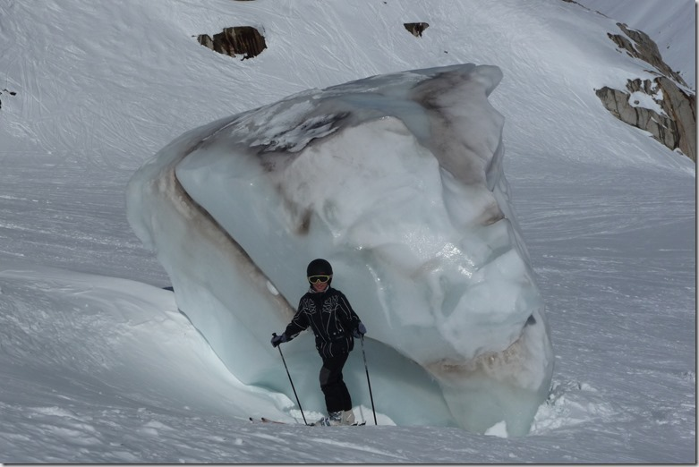 6 Bloc de glace