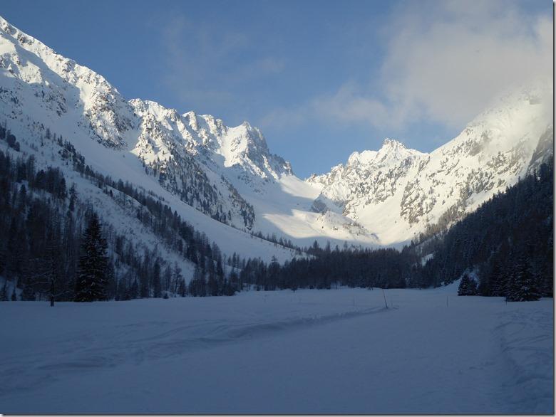 62 Arrivée aux pistes de ski