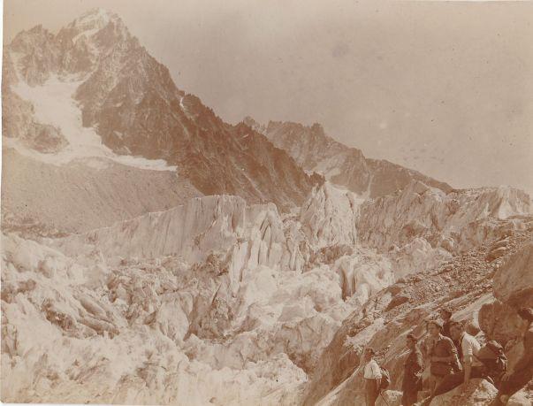 Au bord du glacier d'Argentière