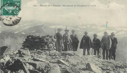Au sommet de Chasseforêt