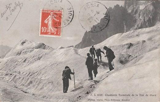 Chamonix Traversée de la Mer de Glace