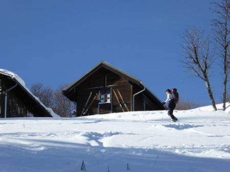 Ski de randonnée Pointe d'Andey