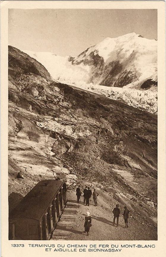 Terminus du Chemin de Fer du Mont-Blanc