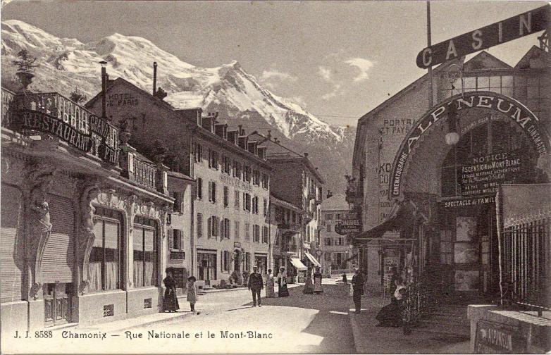 Chamonix Rue Nationale