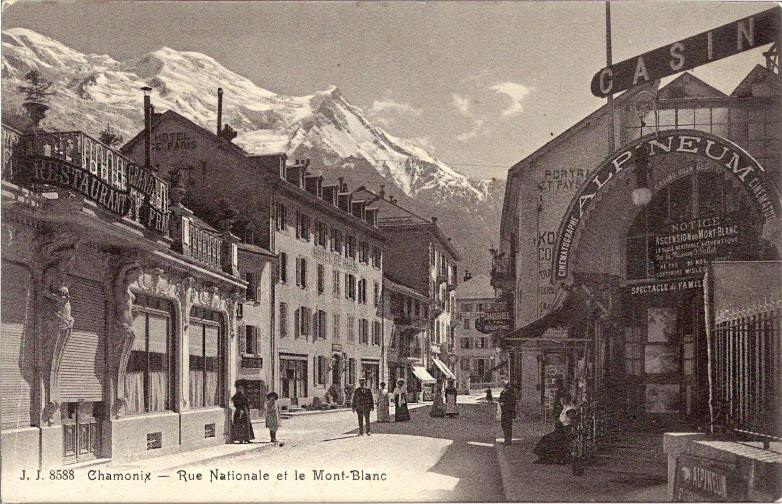 Chamonix Rue Nationale