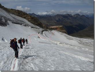 remontée glacier