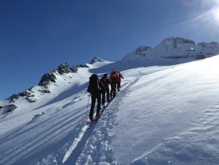 Ski de randonnée au Simplon