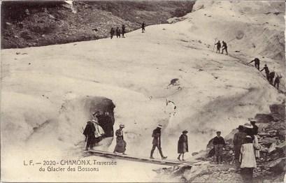 Traversée Glacier Bossons