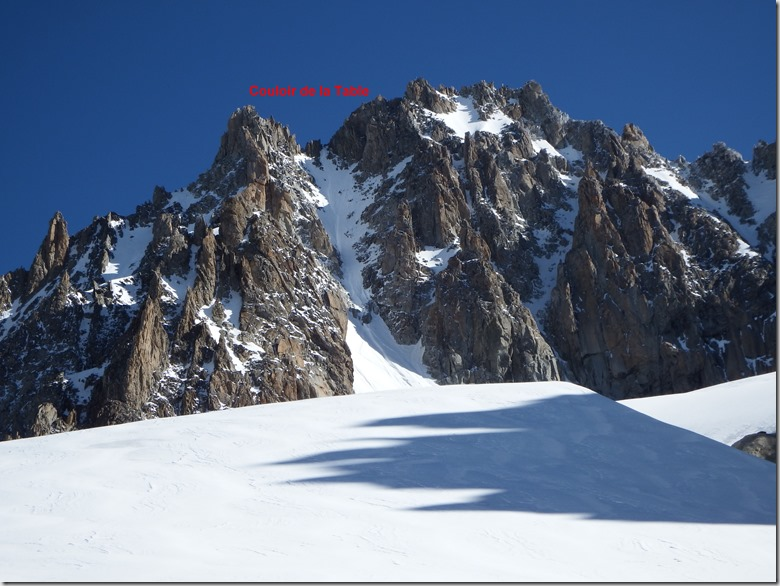 Couloir de la Table