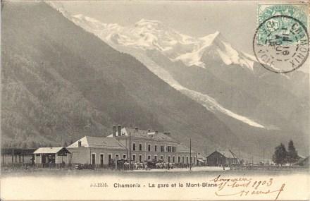 Gare de Chamonix
