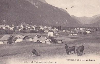 Chamonix et le col de Balme