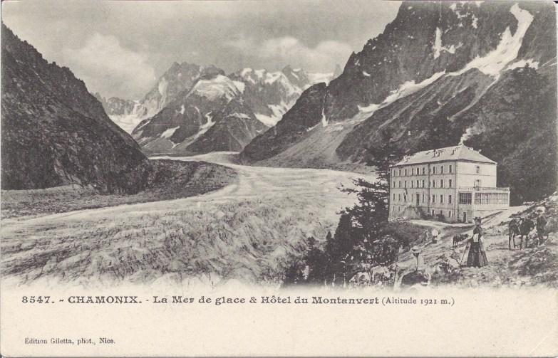 Mer de Glace et Hôtel du Montanvert