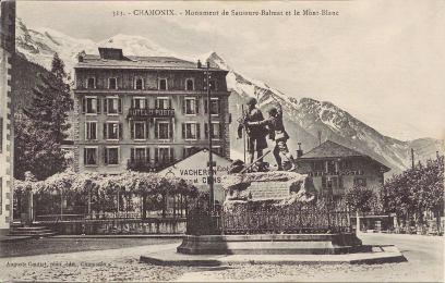 Monument de Saussure-Balmat