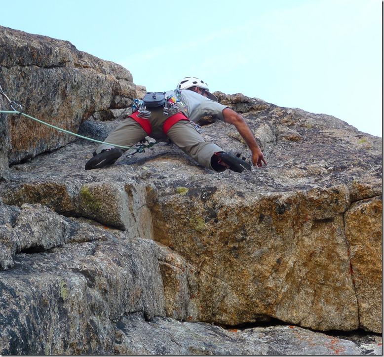 L'escalade en terrain d'aventure