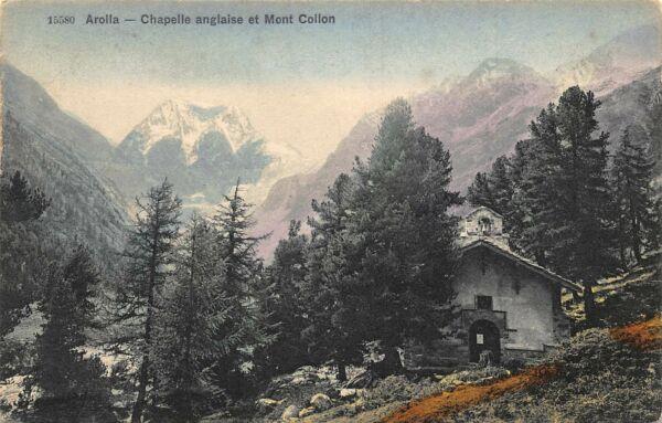 Chapelle anglaise et Mont Collon