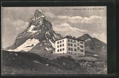 Hôtel Lac Noir et le Mont Cervin