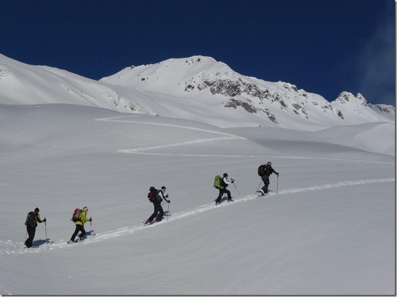 Ski de randonnée en Lauzière