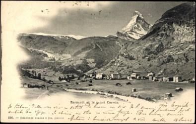 Zermatt et le mont Cervin