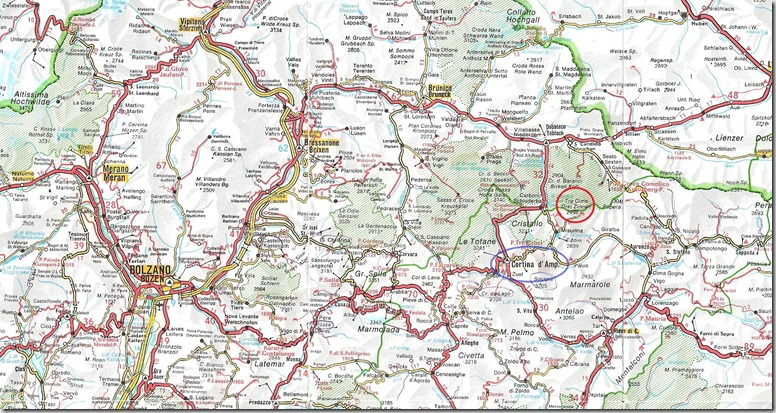 Carte Dolomites