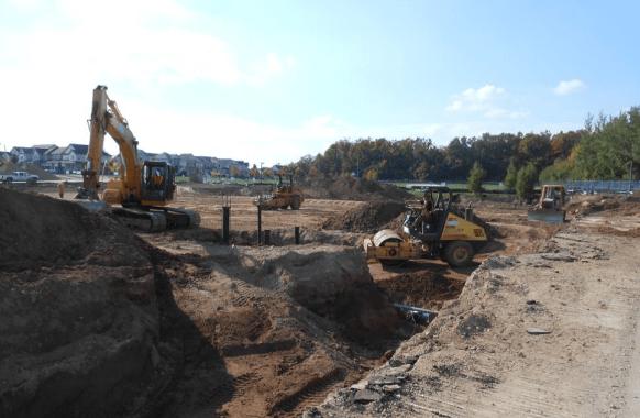 Service Excavation
