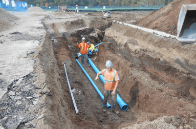 Water & Firemain Installation