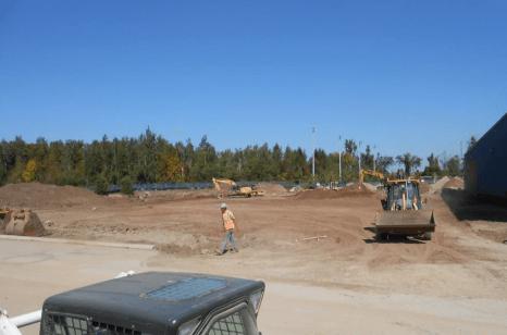 Top soil stripping & Grading