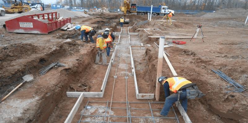 Footings Excavation