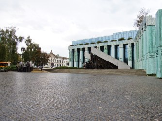 The monument to the Warsaw Uprising