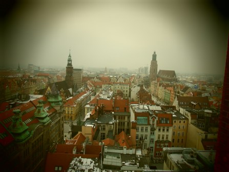 Wroclaw from up high