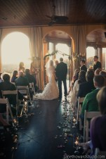 Ashley and Ryan terrace ceremony