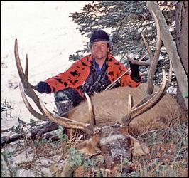 6x6 Bull Elk - 327 B&C
