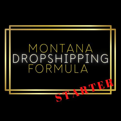 Montana Dropshipping Formula Starter