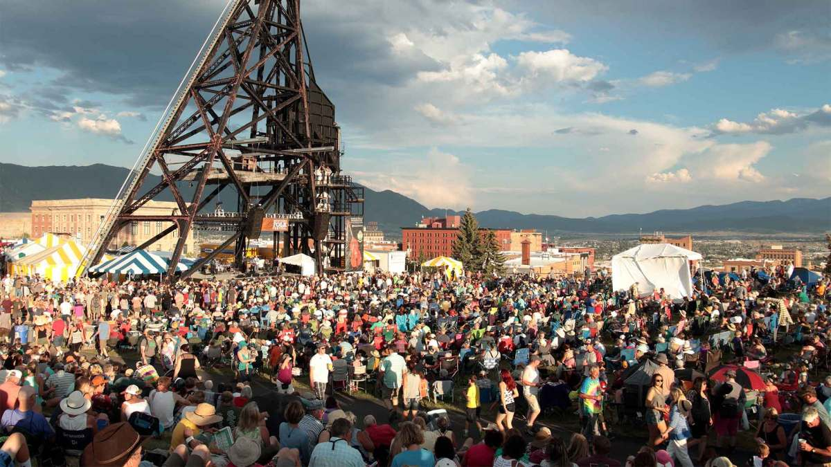 Montana Folk Festival – A FREE Outdoor Music Festival In Butte, Montana