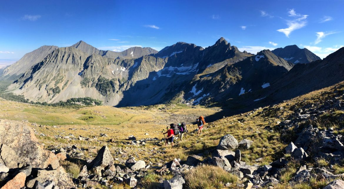 Crazy Mountains backpackers
