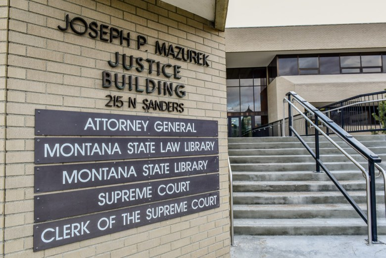 Montana Supreme Court Department of Justice