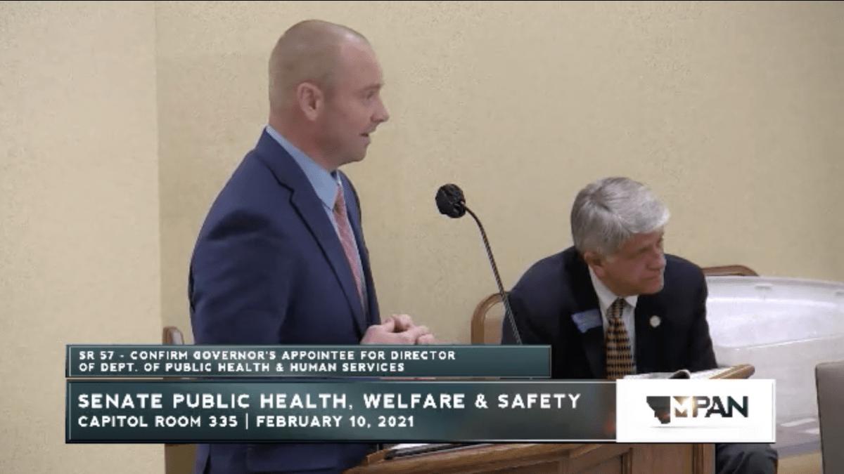 Montana public health DPHHS Adam Meier