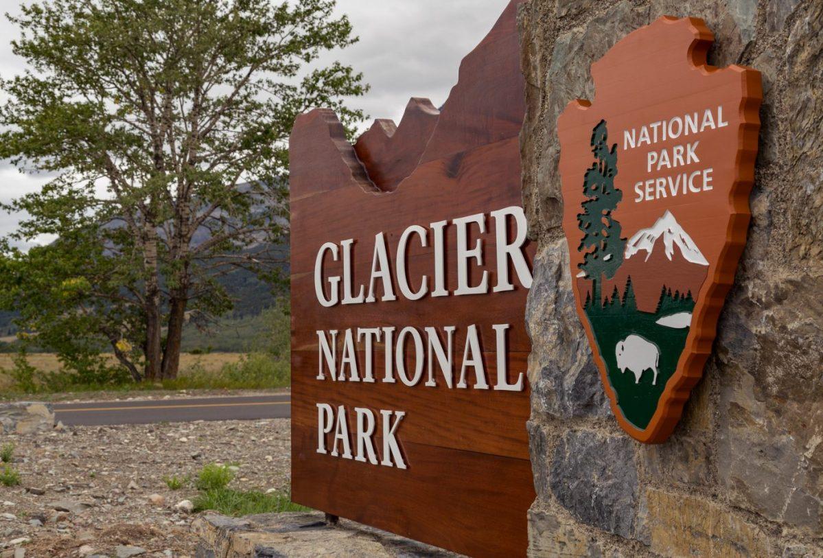 Glacier eastern entrance Blackfeet