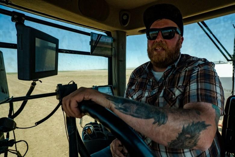 Tiber Ridge Farm John Wiks Montana regenerative agriculture