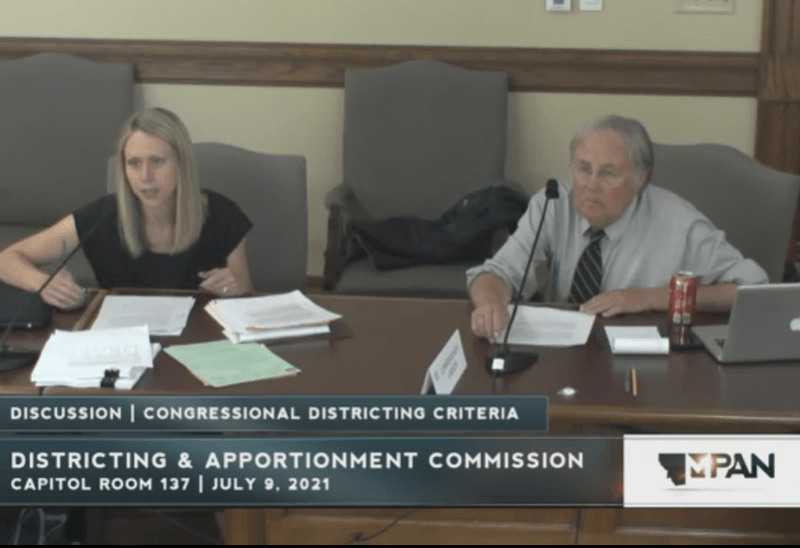 Monstana Districting Commission