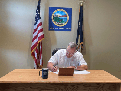 Chief Water Judge Russell McElyea Montana Water Court