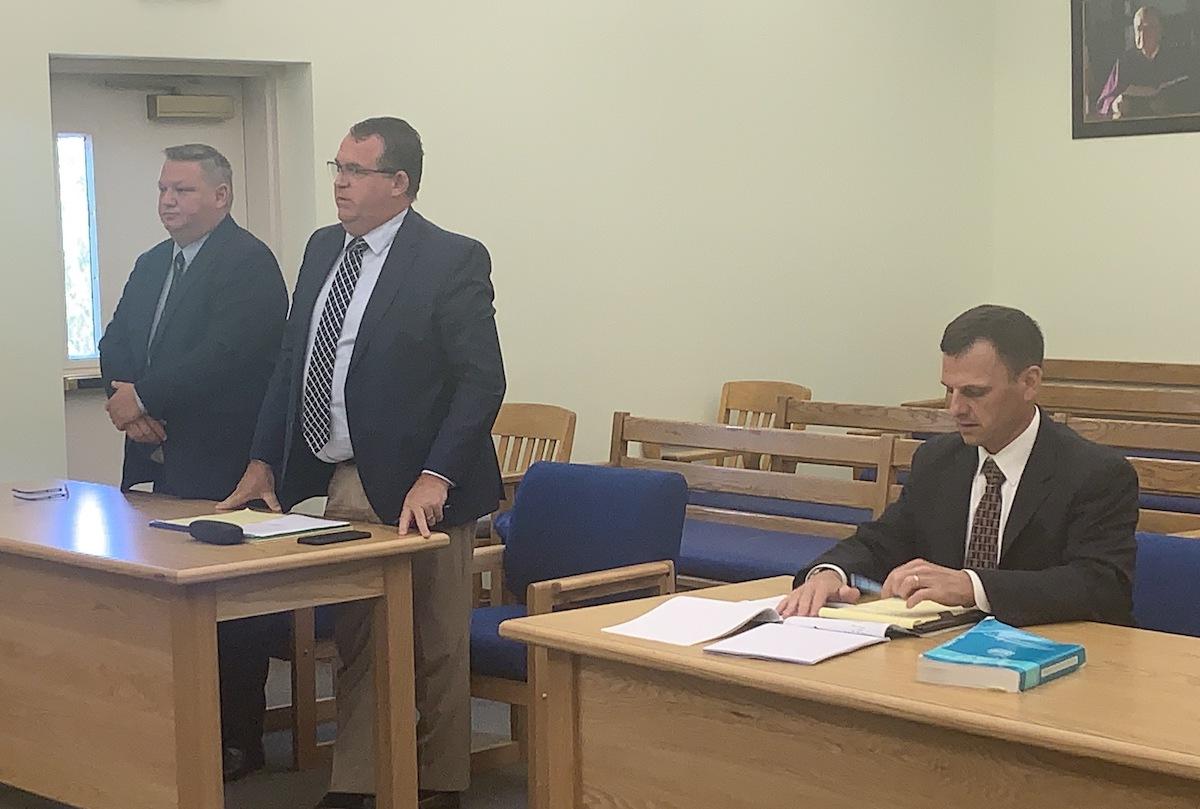 Sen. Ellsworth appears in court