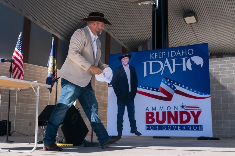 Ammon Bundy Idaho governor candidate