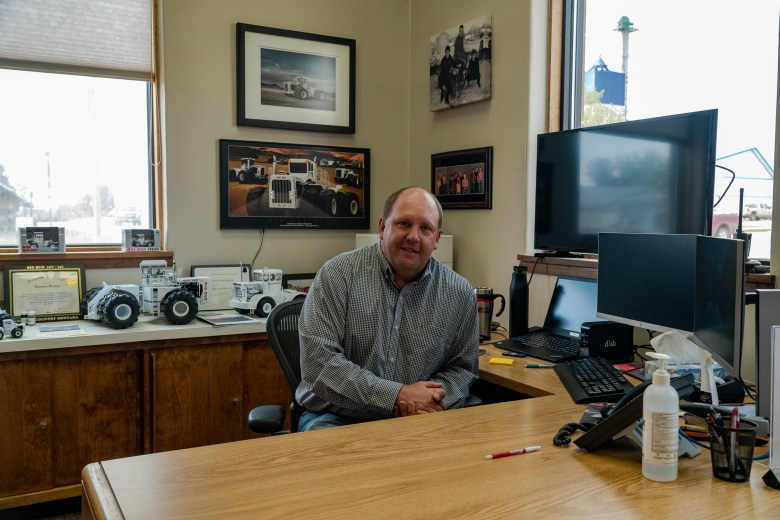 Big Sandy Montana Mayor Shaud Schwarzbach,